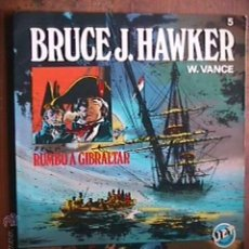 Tebeos: BRUCE J. HAWKER Nº 5 RUMBO A GIBRALTAR, BRUGUERA, 1983. Lote 41835977