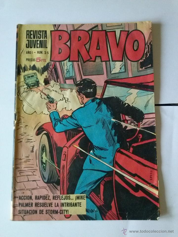 BRAVO 1ª Nº 25 -T (Tebeos y Comics - Bruguera - Bravo)