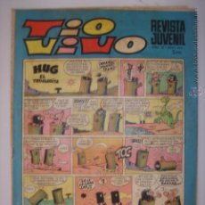 Tebeos: TIO VIVO. Nº434.30 JUNIO 1969. HUG EL TROGLODITA/ROMPETECHOS...MIDE: 26,3 X 18,6 CMS.. Lote 41904322