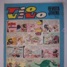 Tebeos: TIO VIVO. Nº439.4 AGOSTO 1969. HUG EL TROGLODITA/ROMPETECHOS...MIDE: 26,3 X 18,6 CMS.. Lote 41904501