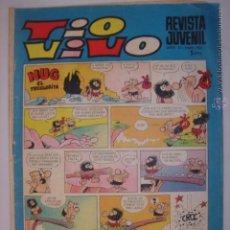 Tebeos: TIO VIVO. Nº455.24 NOVIEMBRE 1969. HUG EL TROGLODITA/MORTADELO Y FILEMÓN...MIDE: 26,3 X 18,6 CMS.. Lote 41904758