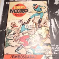 Tebeos: TENIENTE NEGRO COLECCION COMPLETA 30 NUMEROS MUY BUENOS. Lote 41979309
