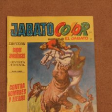 Tebeos: JABATO - CONTRA HOMBRES Y FIERAS. Lote 42058989