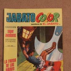 Tebeos: JABATO - LA FARSA DE LOS HAINIS. Lote 42059081