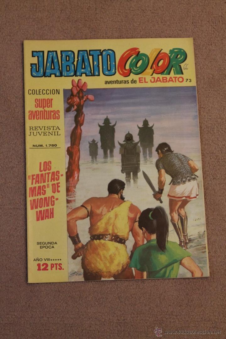 JABATO - LOS FANTASMAS DE WONG - WAH (Tebeos y Comics - Bruguera - Jabato)