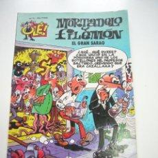 Tebeos: MORTADELO Y FILEMON - COLECCION OLE - Nº 5 EL GRAN SARAO EDICIONES B, 1999 CX25. Lote 42064483