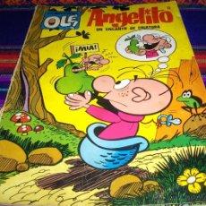 Tebeos: OLÉ Nº 54 ANGELITO. BRUGUERA 1ª ED CON Nº EN LOMO. 1972. 40 PTS. COMPLETO Y DIFÍCIL!!!!!. Lote 42069091