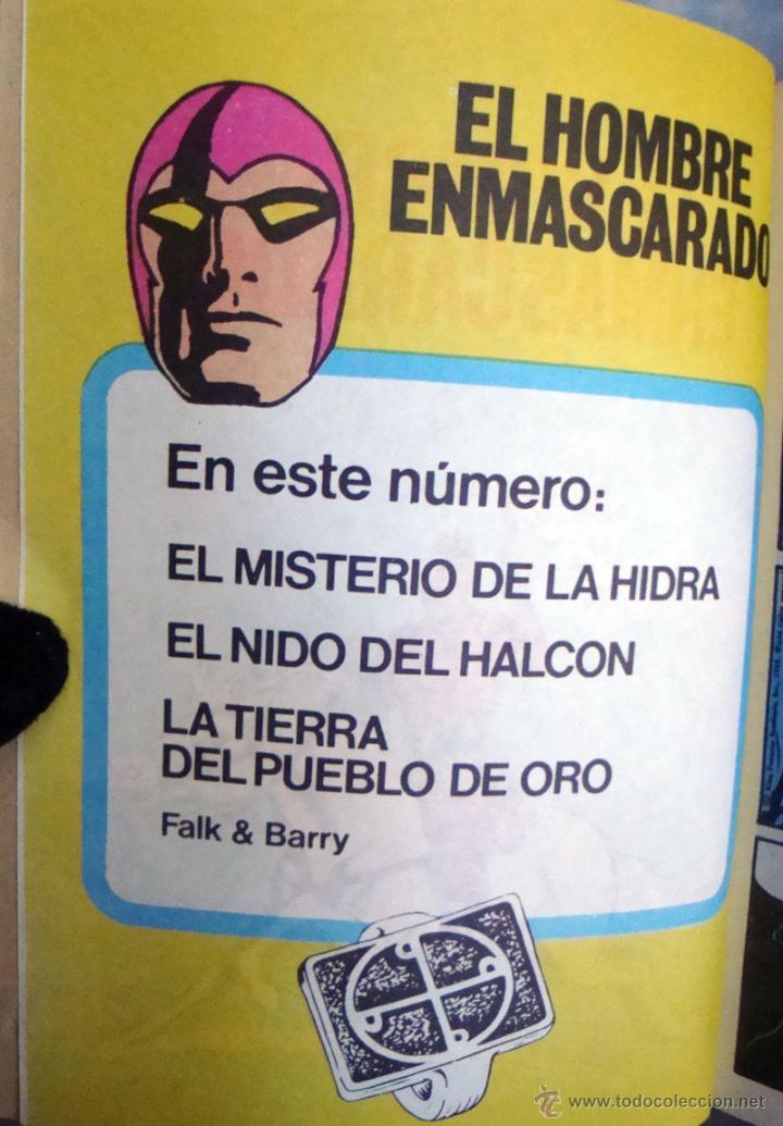 Tebeos: Pocket de ases-Nº 33-38-Mandrake el Mago 39-El hombre enmascarado de Bruguera 1984 nuevos - Foto 4 - 42070527