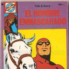 Tebeos: POCKET DE ASES BRUGUERA, SERIE CLÁSICOS, 1985. Nº39 EL HOMBRE ENMASCARADO, NUEVO.. Lote 42070643