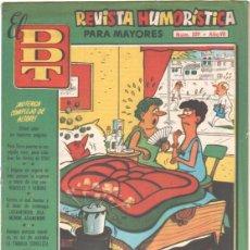 Tebeos: EL DDT Nº 329 EDI. BRUGUERA 1957 - PEÑA-RROYA, GARCIA, CONTI, NADAL, CIFRE, ESCOBAR, VAZQUEZ, JORGE. Lote 42114142