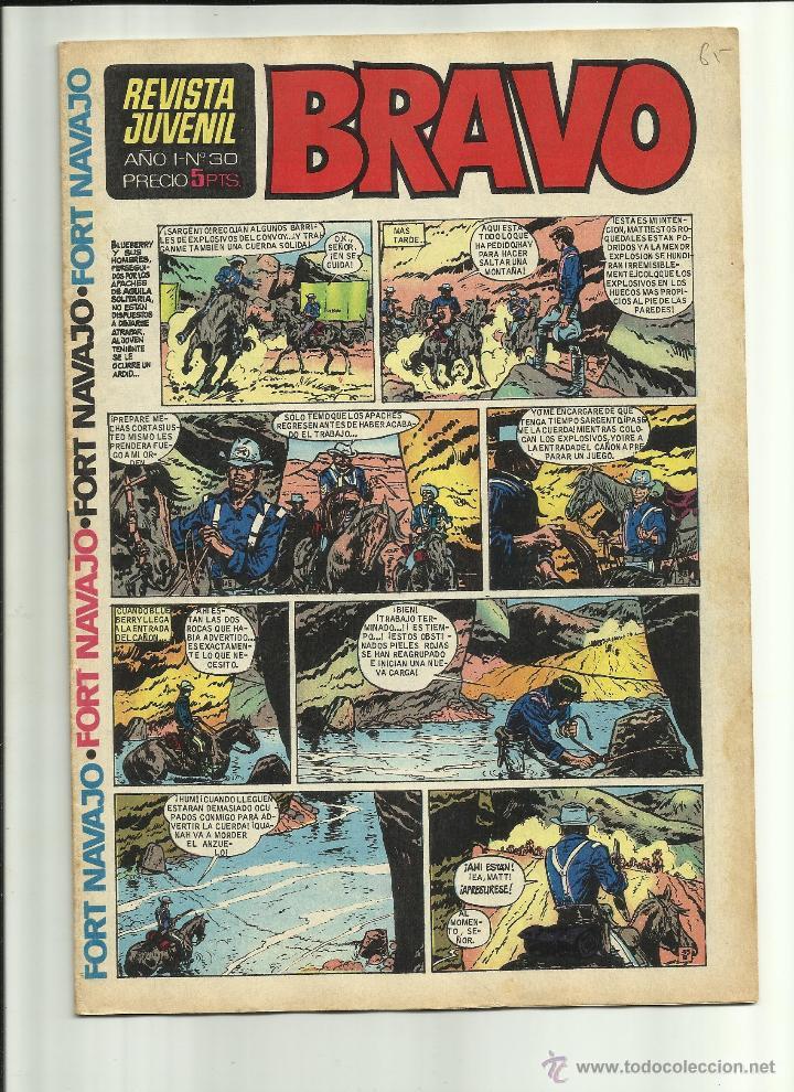 BRAVO N 30 (Tebeos y Comics - Bruguera - Bravo)