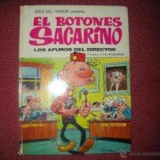 Tebeos: ASES DEL HUMOR.EL BOTONES SACARINO-LOS APUROS DEL DIRECTOR.1973 BRUGUERA 22. Lote 39510175