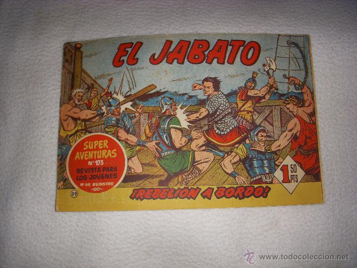 EL JABATO Nº 39, EDITORIAL BRUGUERA (Tebeos y Comics - Bruguera - Jabato)