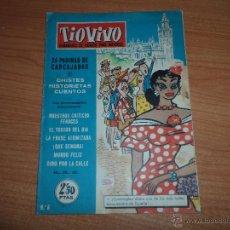 Tebeos: TIO VIVO - Nº 6 - EDICIONES CRISOL - BRUGUERA - 1958. Lote 42218926