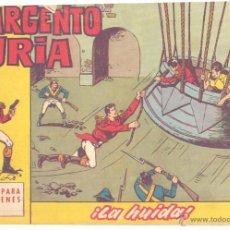 Tebeos: SARGENTO FURIA Nº 5, ORIGINAL. Lote 42238756