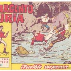 Tebeos: SARGENTO FURIA Nº 28, ORIGINAL. Lote 42238786