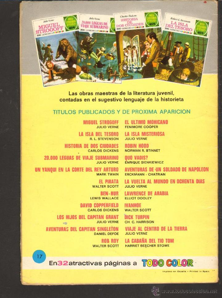 Tebeos: TEBEOS-COMICS CANDY - JOYAS LITERARIAS JUVENILES - VERDE - - 15 PTS - Nº 17 - 1ª EDICION *AA99 - Foto 3 - 42256024