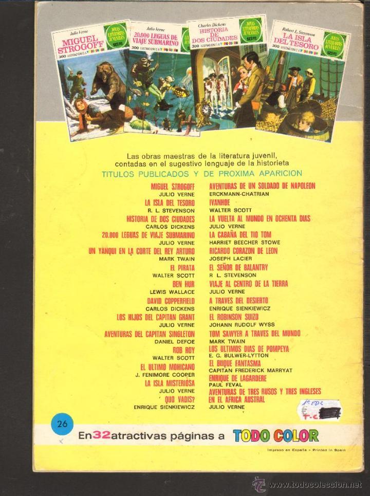 Tebeos: TEBEOS-COMICS CANDY - JOYAS LITERARIAS JUVENILES - VERDE - - 15 PTS - Nº 26 - 1ª EDICION *AA99 - Foto 3 - 57056909