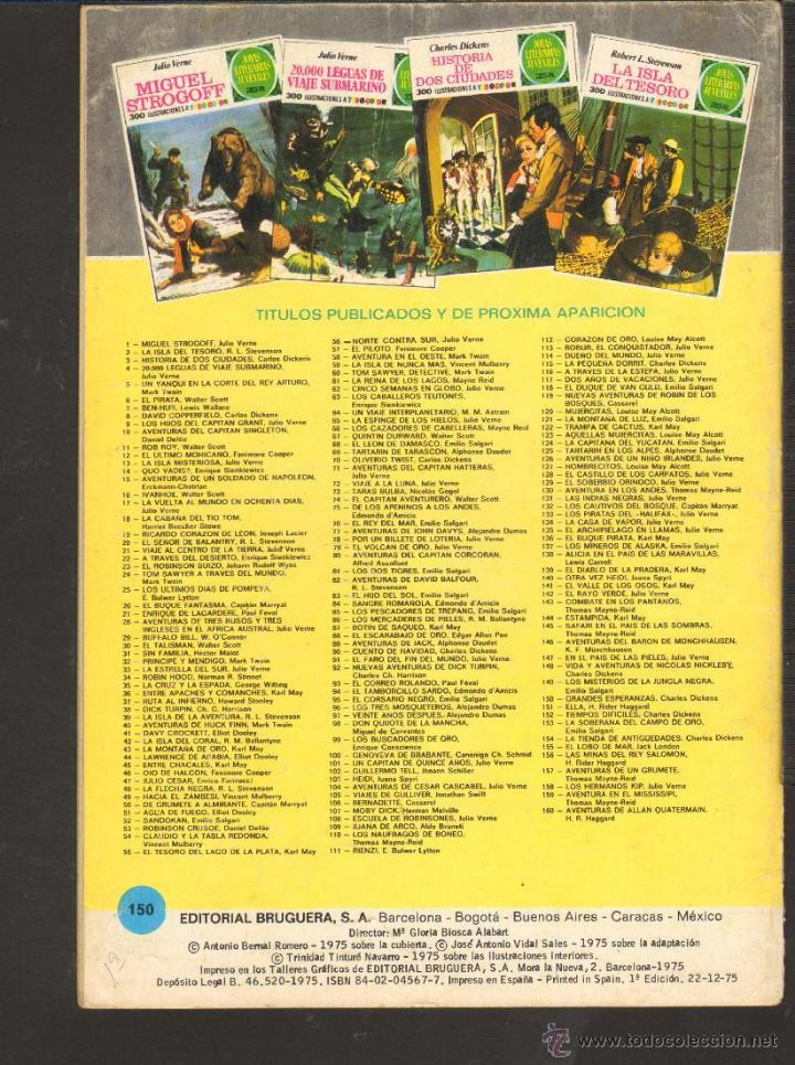 Tebeos: TEBEOS-COMICS CANDY - JOYAS LITERARIAS JUVENILES - VERDE - - 25 PTS - Nº 150 - 1ª EDICION *AA99 - Foto 2 - 42256873