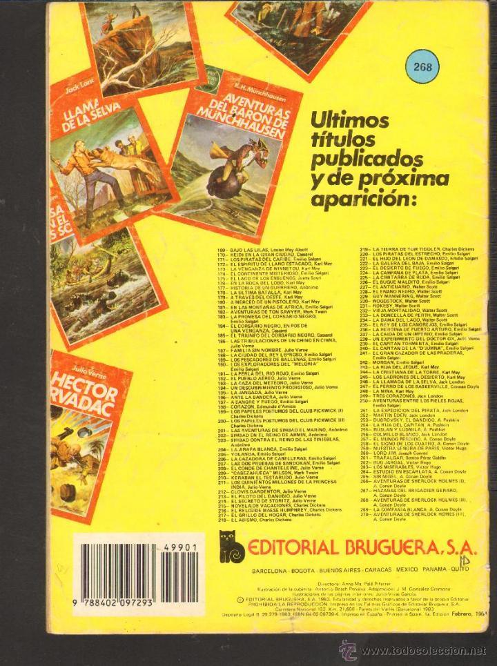 Tebeos: TEBEOS-COMICS CANDY - JOYAS LITERARIAS - VERDE - 3ª COLECCION - 75 PTS - Nº 268 - 1ª EDICION *CC99 - Foto 2 - 42256935
