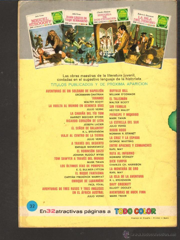 Tebeos: TEBEOS-COMICS CANDY - JOYAS LITERARIAS 32 - 2ª COLECCION - 15 PTS - 1ª EDICION *AA99 - Foto 5 - 42271353