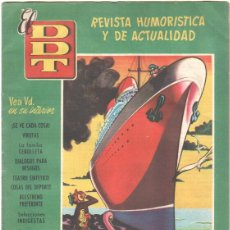 Tebeos: EL DDT Nº 322 EDI.BRUGUERA 1957 - PEÑA-ROYA, VAZQUEZ, CIFRÉ, NADAL, CONTI, JORGE, MARTZ SCHMIDT. Lote 42273537