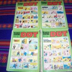 Tebeos: LOTE DE 35 NºS REVISTA JUVENIL DDT III ÉPOCA DE LOS NºS 65 AL 201. BRUGUERA 1969. 5 PTS. SUELTOS.. Lote 42276070