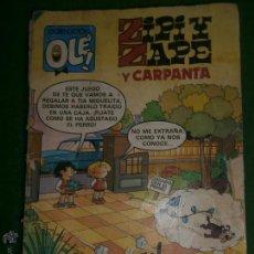 Tebeos: ZIPI Y ZAPE Y CARPANTA OLE. Lote 42334126