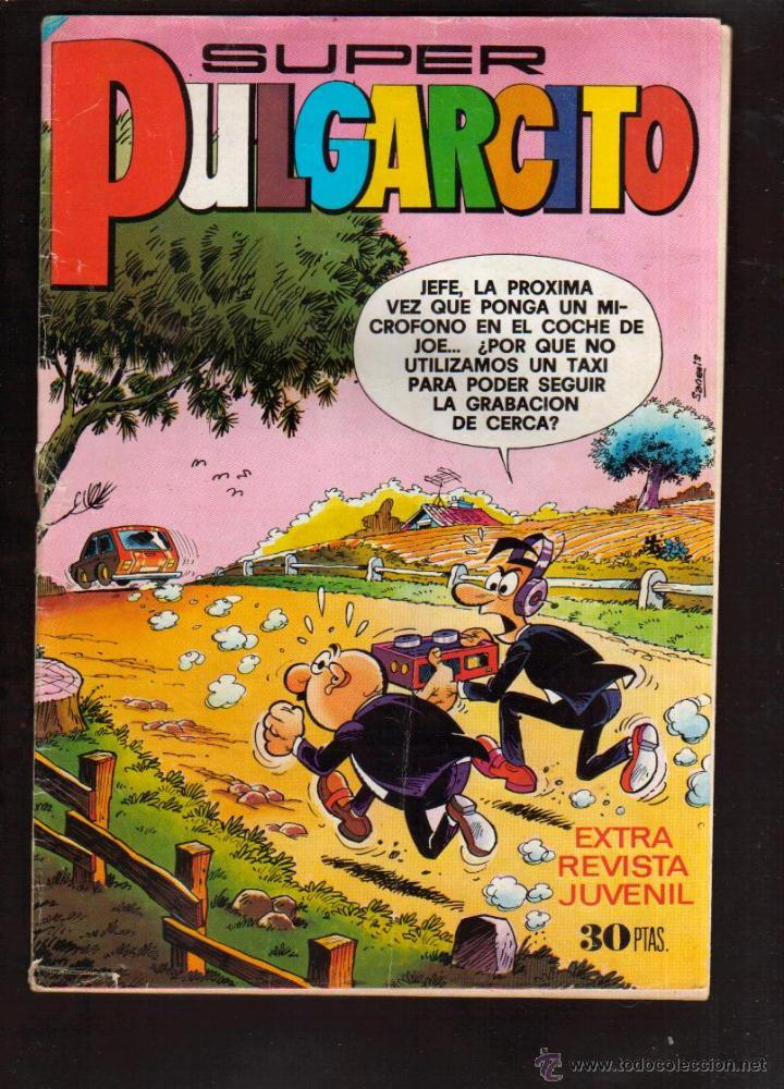 TEBEO DE SUPER PULGARCITO Nº 77 AÑO 1977. MIRA MAS TEBEOS EN MI TIENDA EL RINCON DE JJ (Tebeos y Comics - Bruguera - Otros)