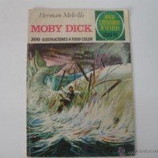 Tebeos: JOYAS LITERARIAS Nº 10 MOBY DICK 1977. Lote 42371995