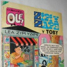 Tebeos: ZIPI Y ZAPE Nº 278 / Y TOBY - COLECCIÓN OLÉ - EDITORIAL BRUGUERA 1983. Lote 42383633