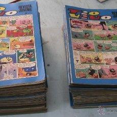 Tebeos: TÍO VIVO / LOTE DE 163 NÚMEROS / BRUGUERA 1969. Lote 42384472