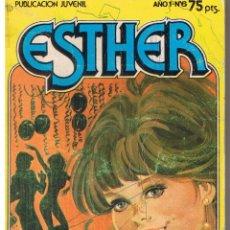 Tebeos: ESTHER. PUBLICACIÓN JUVENIL. NUMERO 6. TENGO MIEDO A LOS GUATEQUES. BRUGUERA 1982.(ST/MANGA7). Lote 42418794