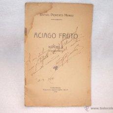 Tebeos: LIBRETA DE ACIAGO FRUTO,NOVELA-ZARAGOZA,1918.. Lote 42424315