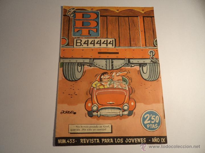 EL DDT. Nº 433. BRUGUERA. (Tebeos y Comics - Bruguera - DDT)