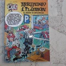 Tebeos: OLE Nº 3 MORTADELO Y FILEMON, EL ATASCO DE INFLUENCIAS, EDICIONES B, JUNIO 1995. Lote 42471989