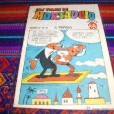 Tebeos: LOS VIAJES DE MORTADELO SERIE 2 Nº 3 A PERSIA. CUENTOS ORTIZ. PEQUEÑO FORMATO. MUY RARO. BE.. Lote 42475188