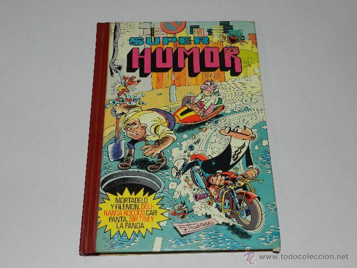 (M-11) SUPER HUMOR VOLUMEN XXII, EDT BRUGUERA 1982, BUEN ESTADO (Tebeos y Comics - Bruguera - Super Humor)
