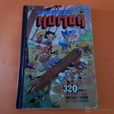 Tebeos: SUPER HUMOR MORTADELO ZIPI ZAPE -PEPE GOTERA Y SACARINO VOLUMEN X 4 EDICION 1984. Lote 42725854
