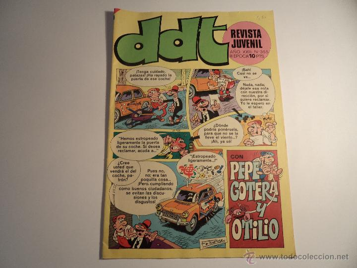 DDT. Nº 355. III ÉPOCA. BRUGUERA. (Tebeos y Comics - Bruguera - DDT)
