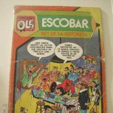 Tebeos: COLECCIÓN OLÉ Nº 299 ESCOBAR REY DE LA HISTORIETA ZIPI ZAPE EDITORIAL BRUGUERA. 1985. Lote 42812257