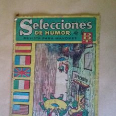 Tebeos: DDT-SELECCIONES DE HUMOR Nº 48 - BRUGUERA -REG.-EST MA.. Lote 42855991