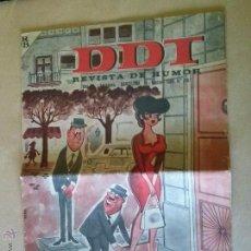 Tebeos: DDT GIGANTE -Nº 715 - BRUGUERA - BIEN -CON DOBLEZ. Lote 42856017