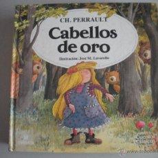 Tebeos: CUENTO DE - CABELLOS DE ORO - DE -CH.PERRAULT -. Lote 42879135