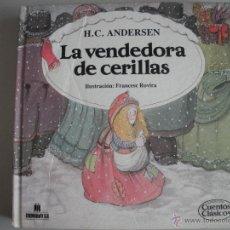 Tebeos: CUENTO DE LA VENDEDORA DE CERILLAS - DE HC. ANDERSEN -. Lote 69995210