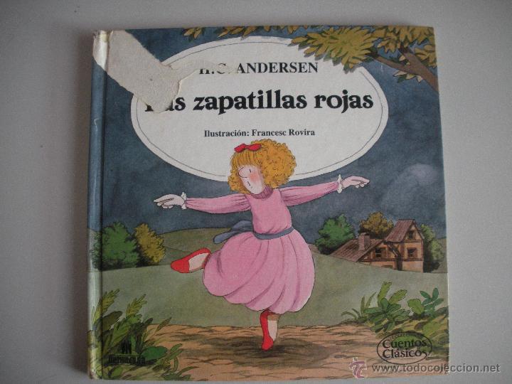 CUENTO LAS ZAPATILLAS ROJAS - DE HC. ANDERSEN- (Tebeos y Comics - Bruguera - Cuadernillos Varios)