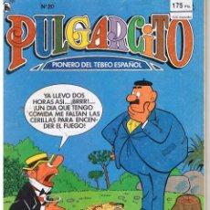 Tebeos: PULGARCITO. EPOCA 3ª. NUMERO 20. BRUGUERA 1986.. Lote 42894585