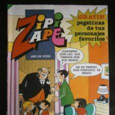 Tebeos: ZIPI Y ZAPE Nº 596 REVISTA JUVENIL BRUGUERA. Lote 42917917