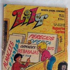 Tebeos: LILY Nº 1108 POSTER CENTRAL DE ROBERTO CARLOS. Lote 42966492