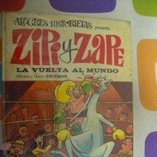 Tebeos: ALEGRES HISTORIETAS 4 ZIPI Y ZAPE LA VUELTA AL MUNDO. Lote 43002377